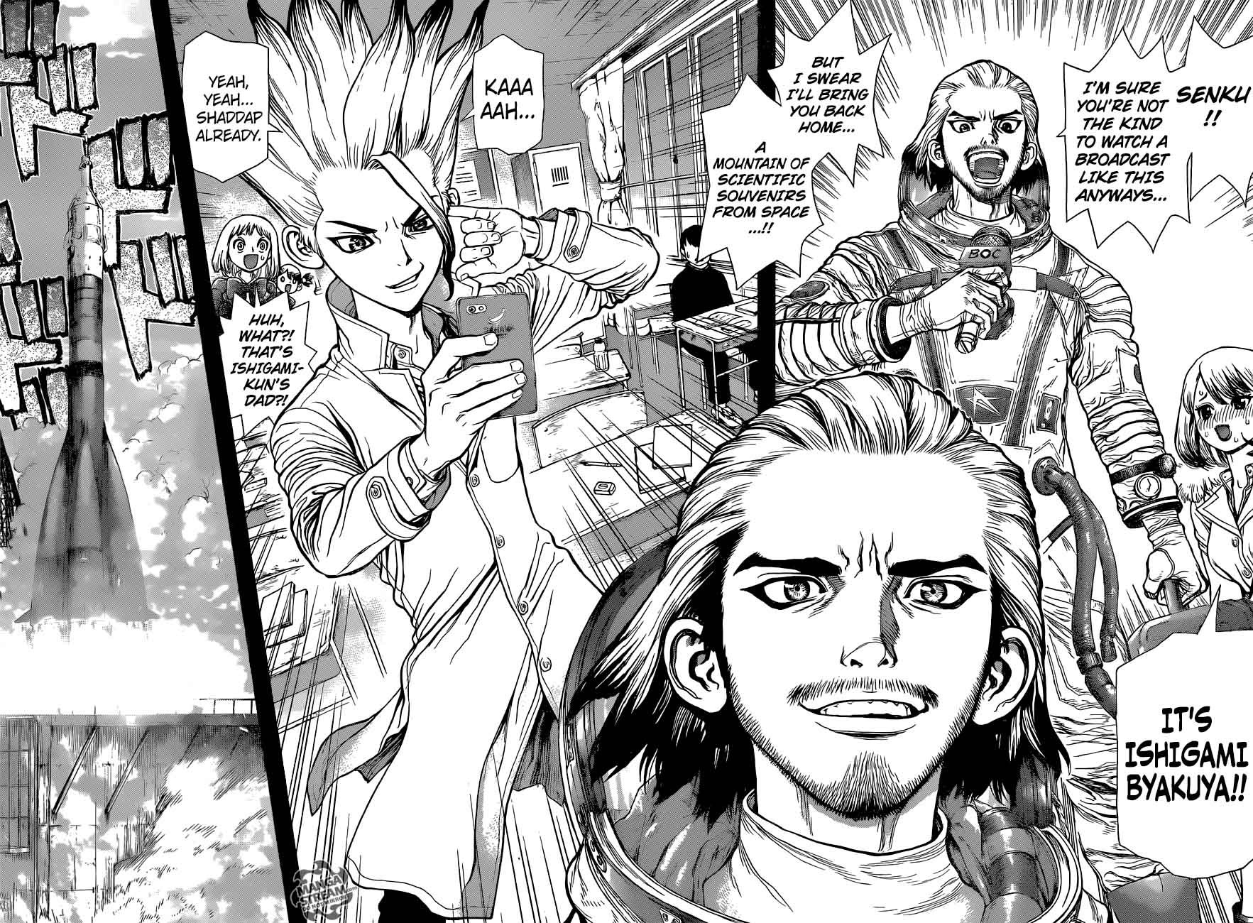 Dr. Stone : Chapter 42 - The story of millennia image 016