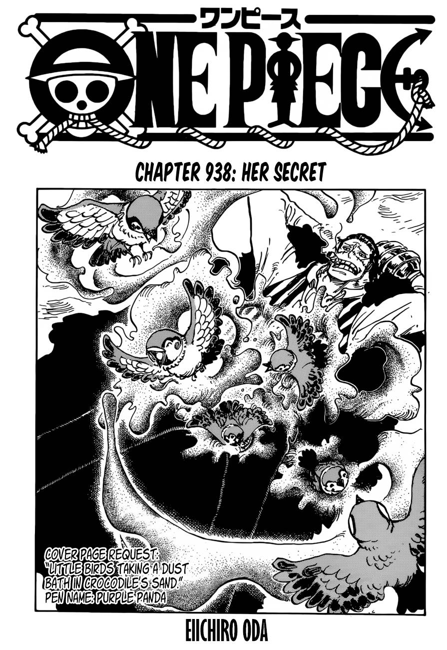 One Piece, Chapter 938 image 001