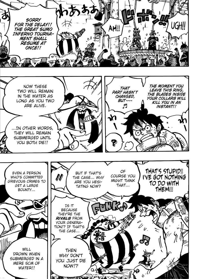 One Piece, Chapter 944 image 015