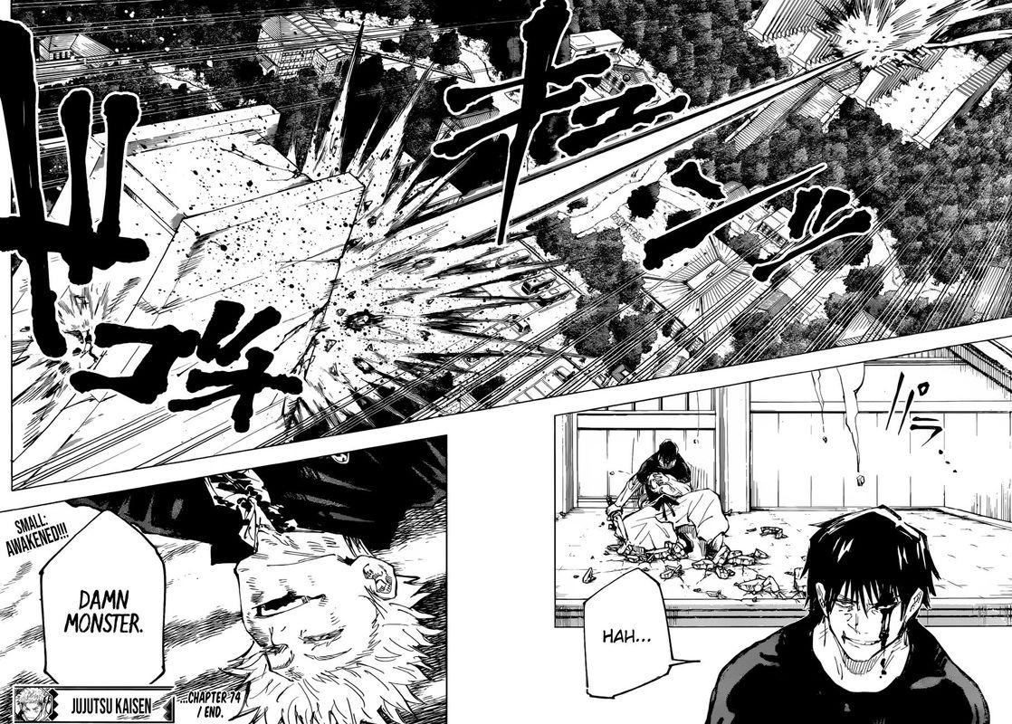 Jujutsu Kaisen, Chapter 74 image 018