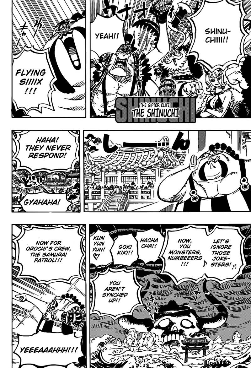 One Piece, Chapter 978 image 013