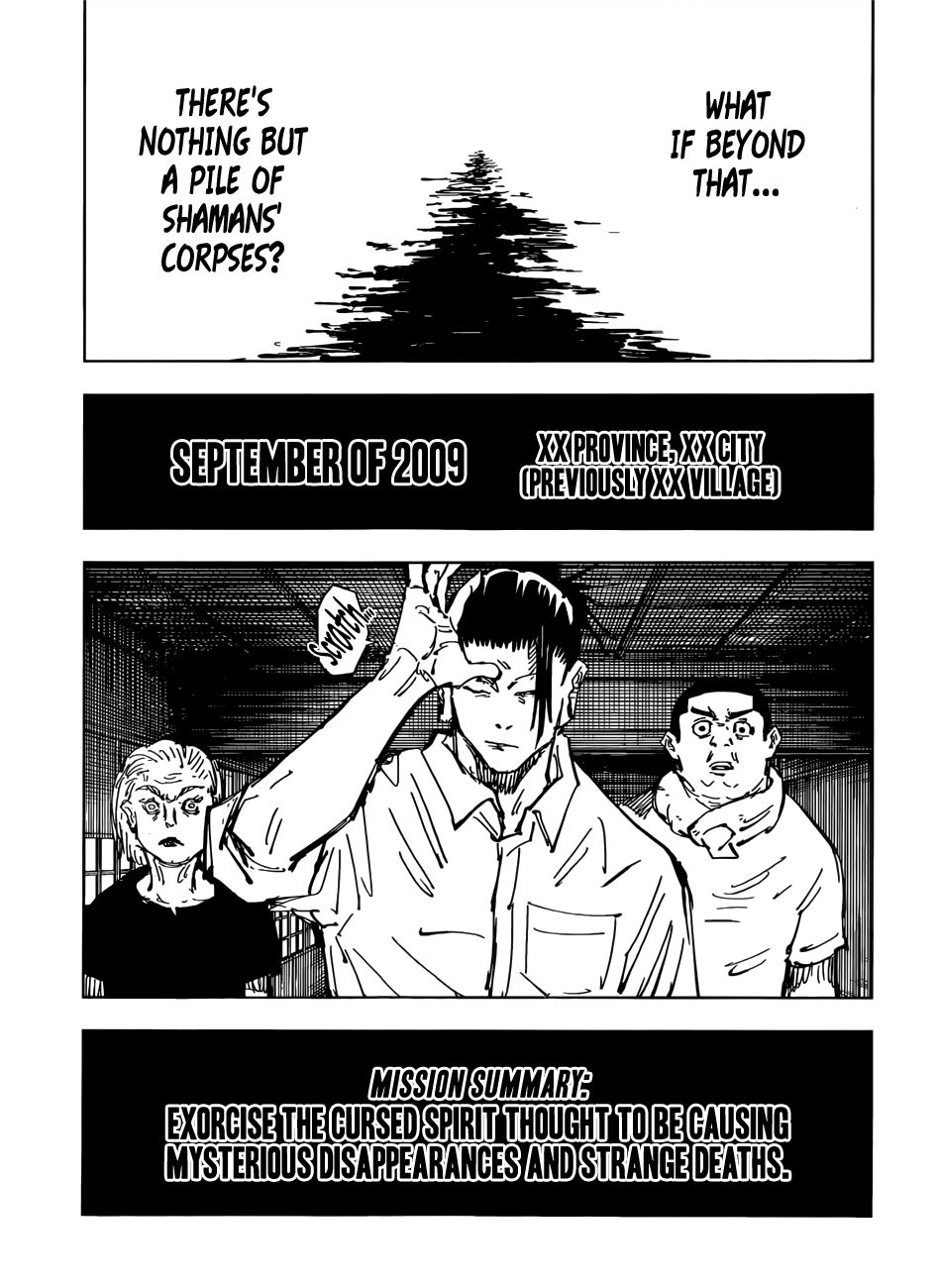 Jujutsu Kaisen, Chapter 77 image 017