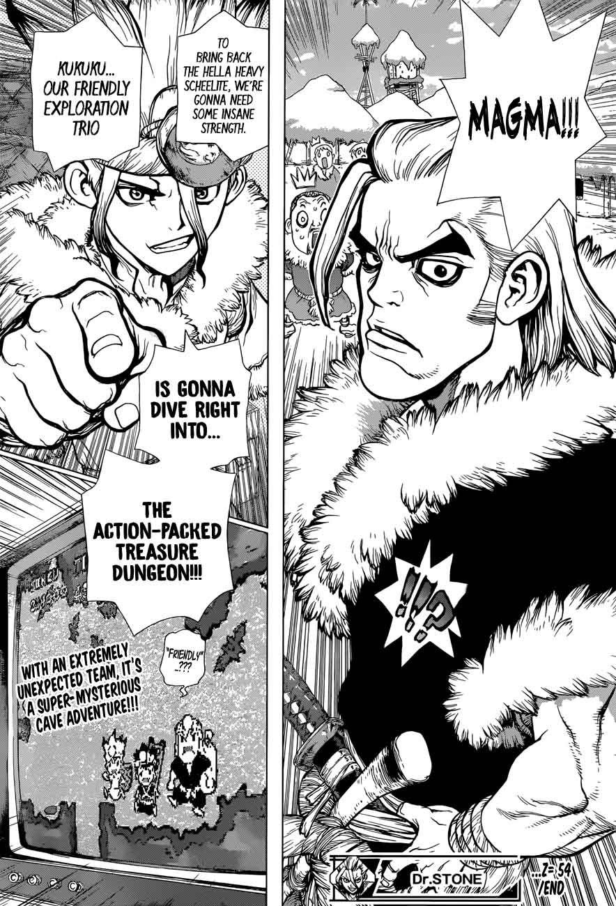 Dr. Stone : Chapter 54 - Glittering Blue Jewel image 020