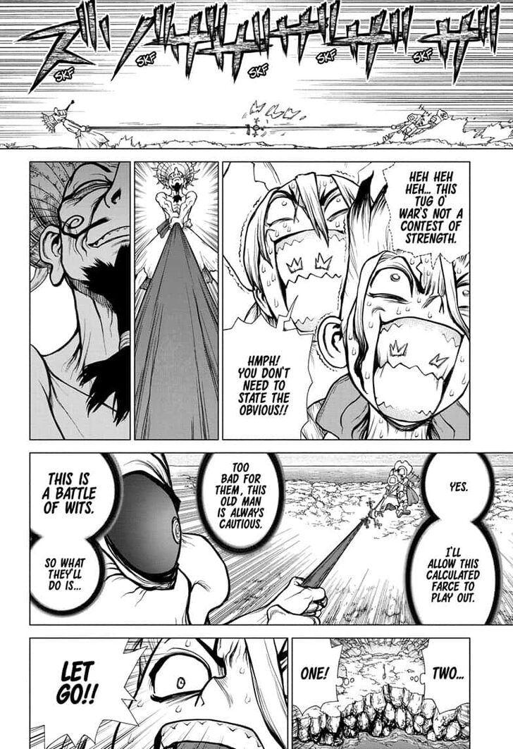 Dr. Stone : Chapter 137 - Last Man Standing image 004