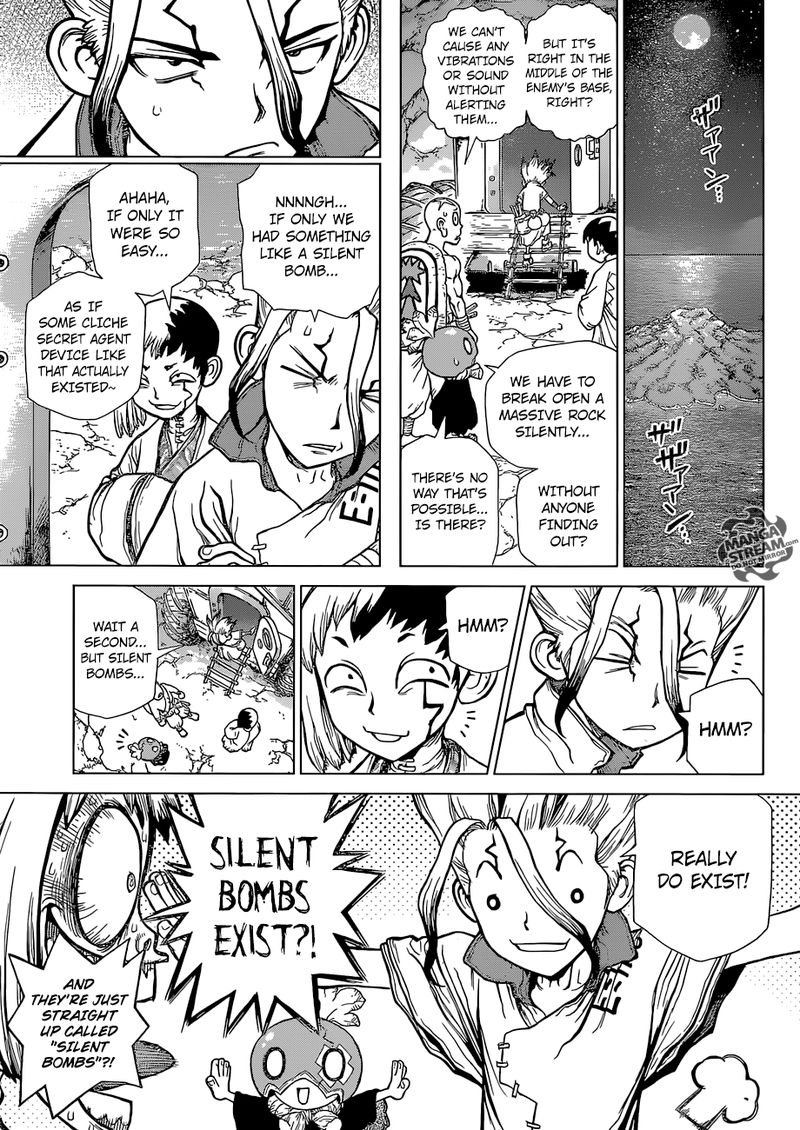 Dr. Stone : Chapter 114 - As Science Silently Bores through Stone image 006