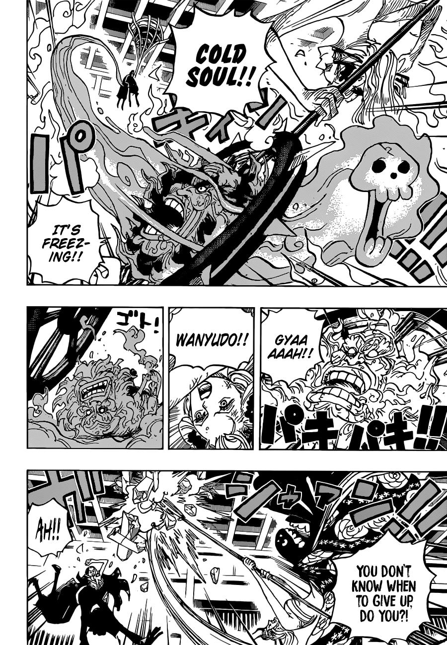 One Piece, Chapter 1020 image 013