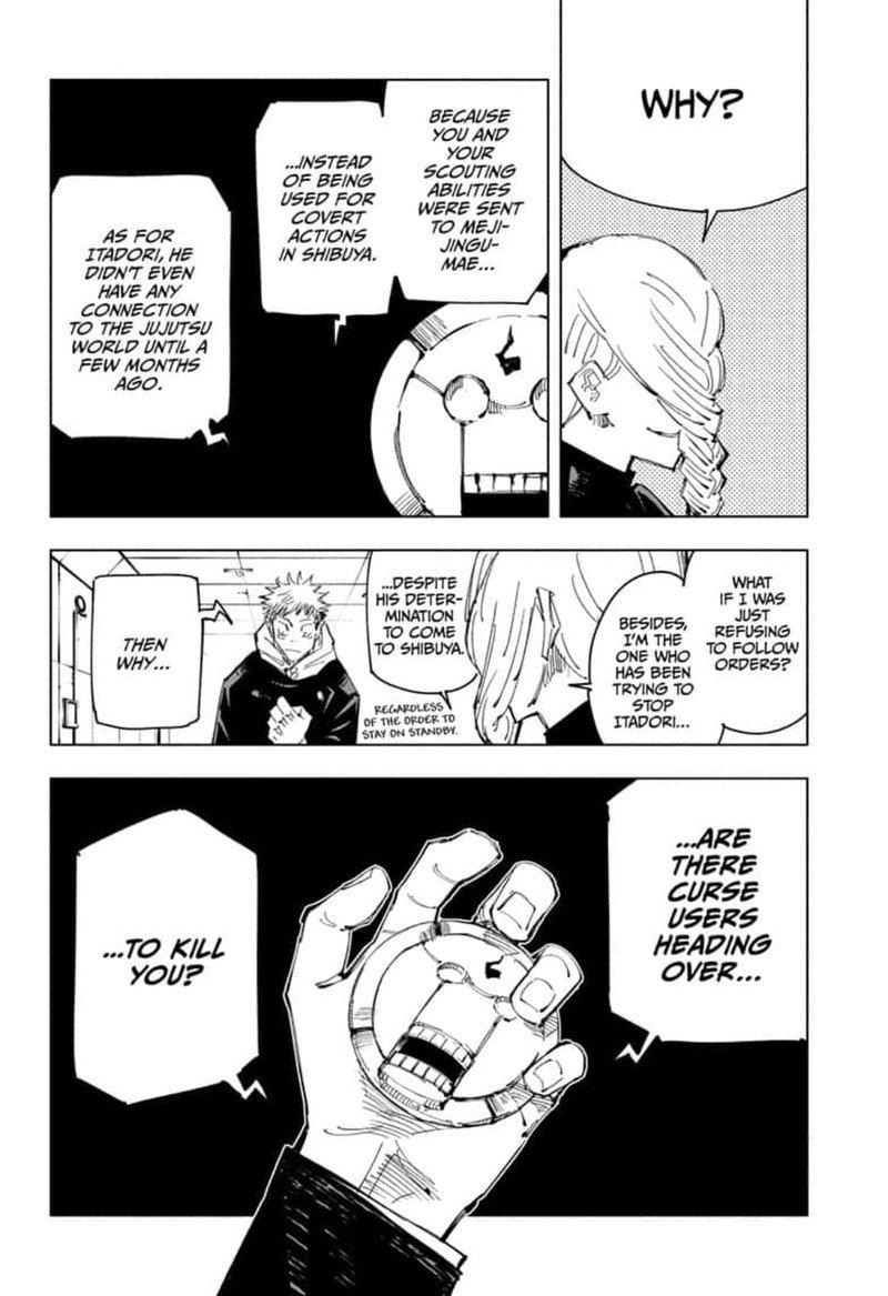 Jujutsu Kaisen, Chapter 91 image 008