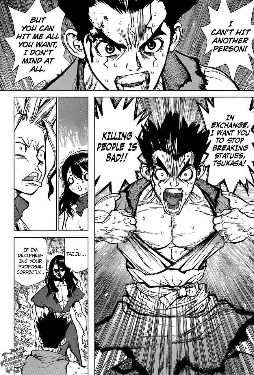 Dr. Stone : Chapter 6 - Taiju vs Tsukasa image 010