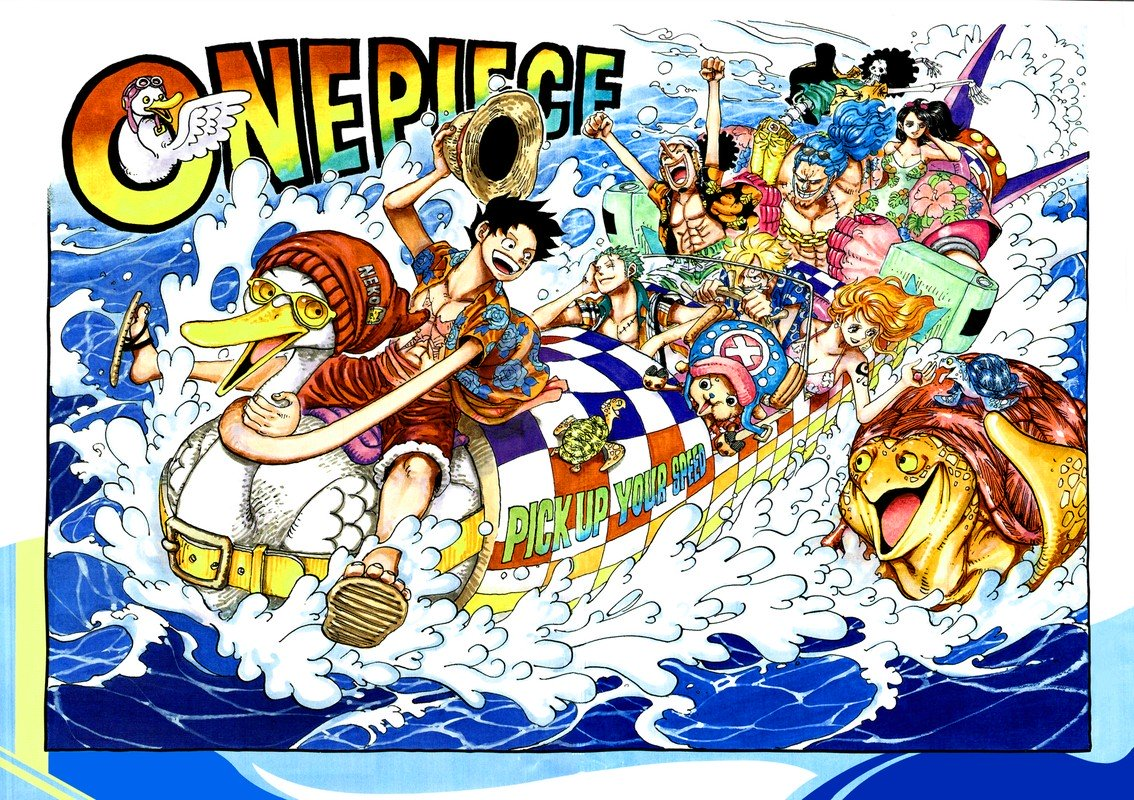 One Piece, Chapter 957 image 002