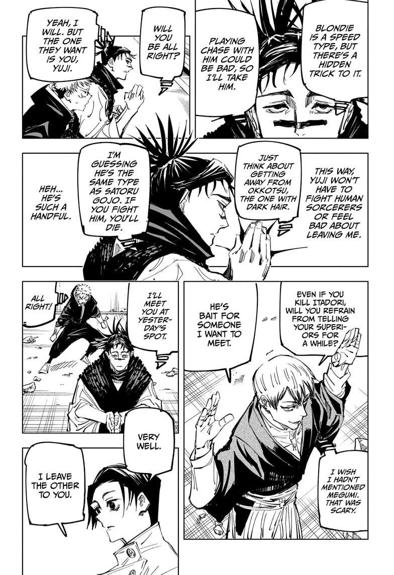 Jujutsu Kaisen, Chapter 140 image 006