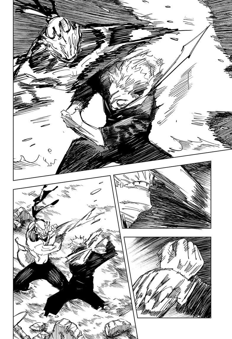Jujutsu Kaisen, Chapter 131 image 018