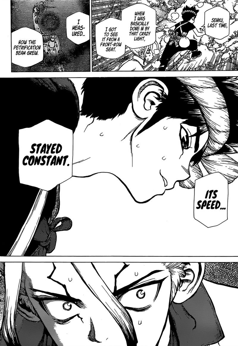 Dr. Stone : Chapter 133 - The Gleam of Annihilation image 010