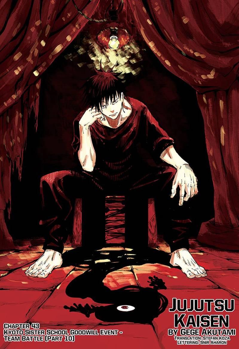 Jujutsu Kaisen, Chapter 43 image 001