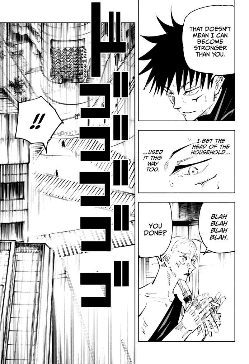 Jujutsu Kaisen, Chapter 117 image 006