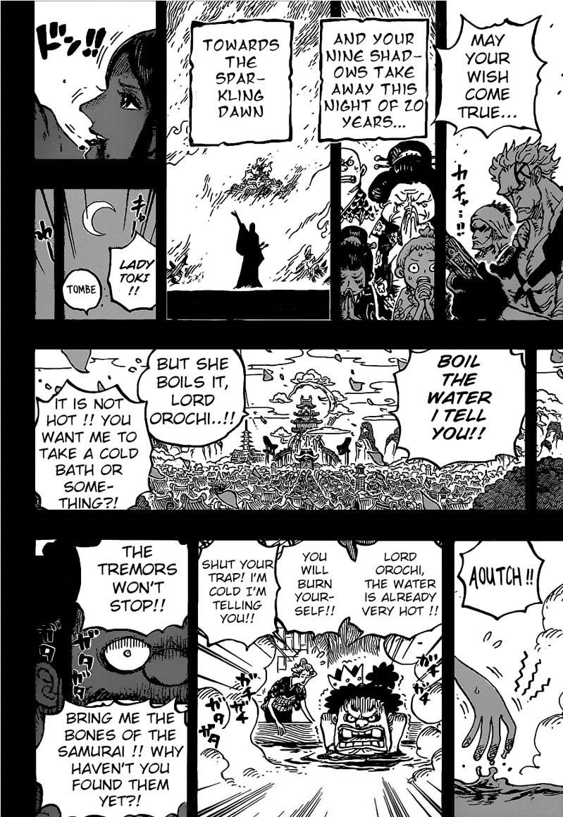 One Piece, Chapter 973 image 012