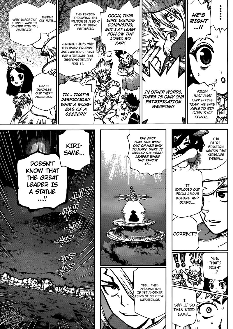 Dr. Stone : Chapter 122 - The Battle of Wits Puzzle Pieces image 011