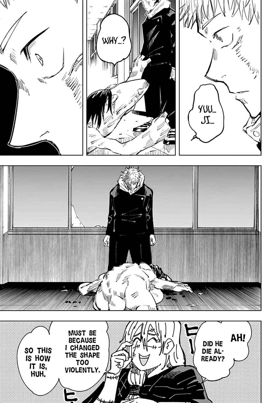 Jujutsu Kaisen, Chapter 27 image 014