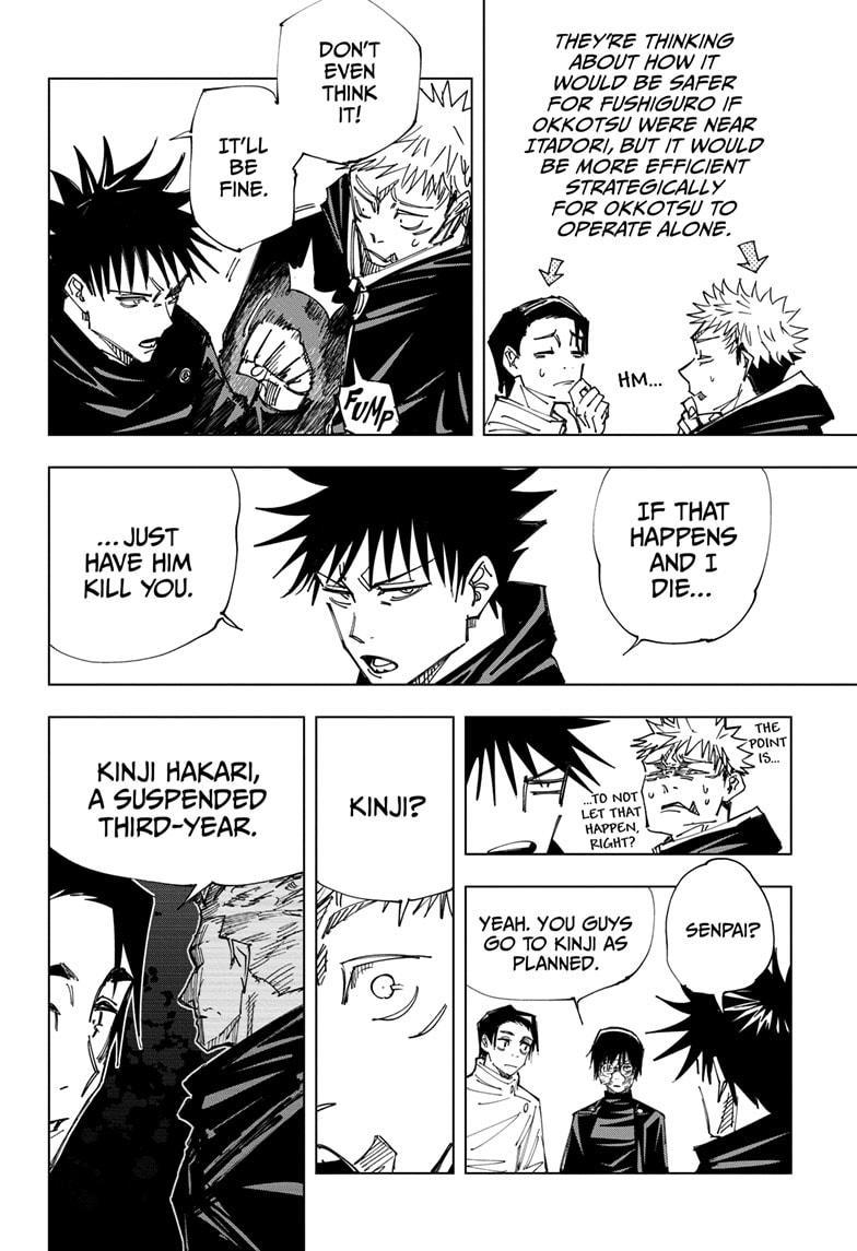 Jujutsu Kaisen, Chapter 146 image 012