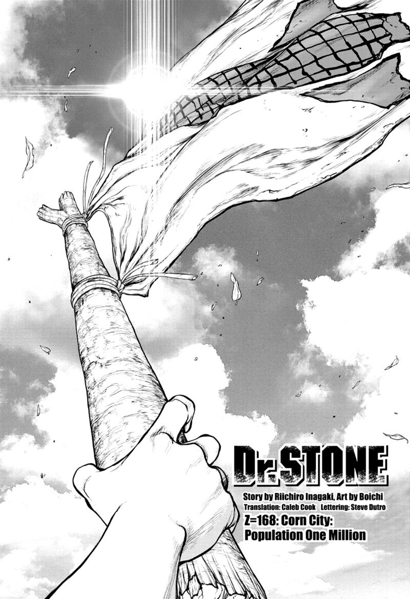 Dr. Stone, Chapter 168 image 001