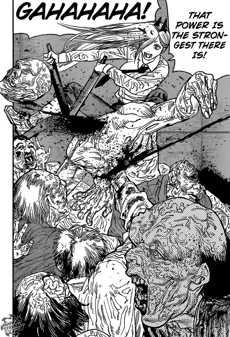 Chainsaw Man, Chapter 36 - Katana vs Chainsaw image 008