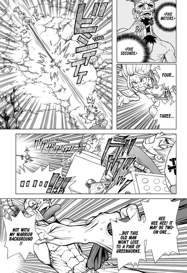 Dr. Stone : Chapter 137 - Last Man Standing image 003