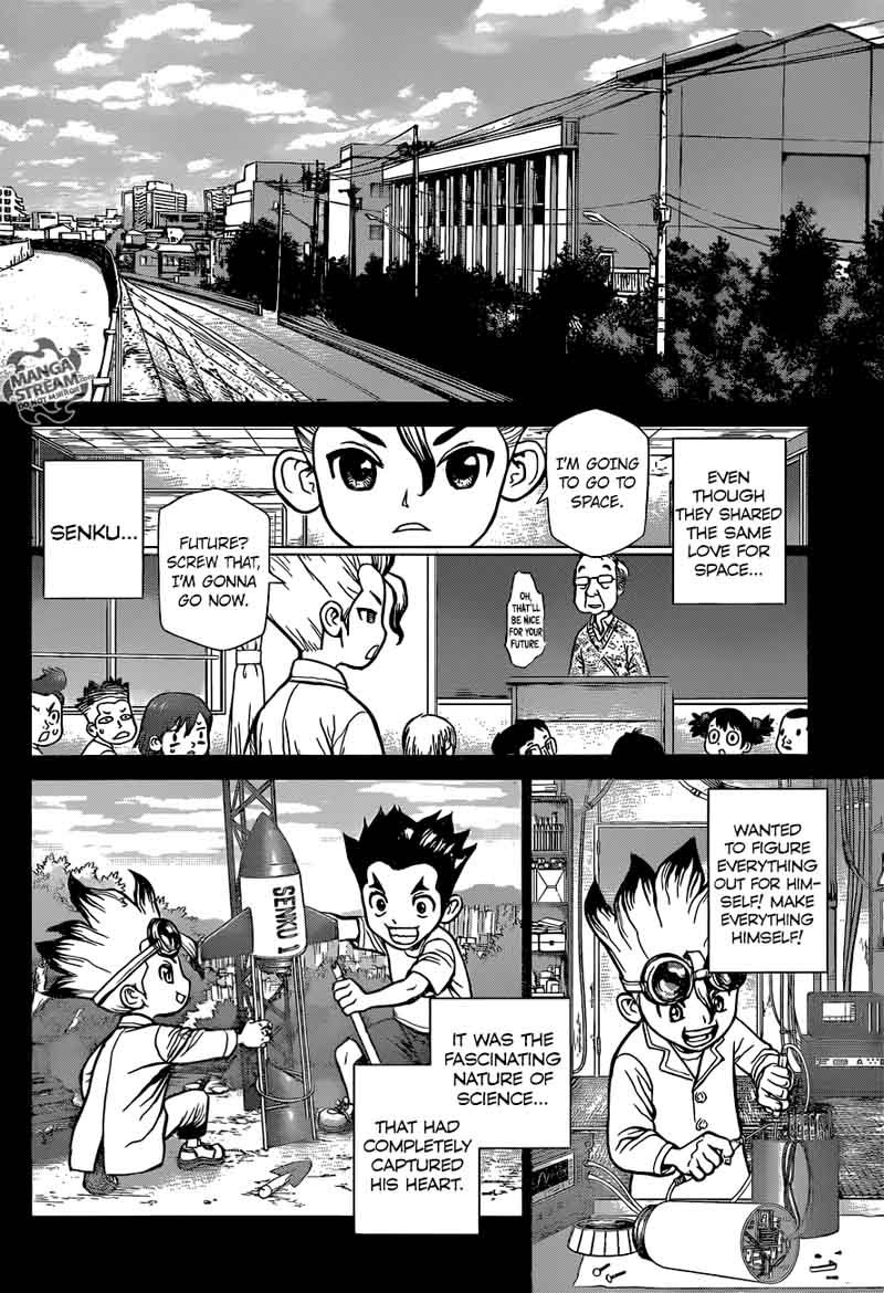 Dr. Stone : Chapter 42 - The story of millennia image 008