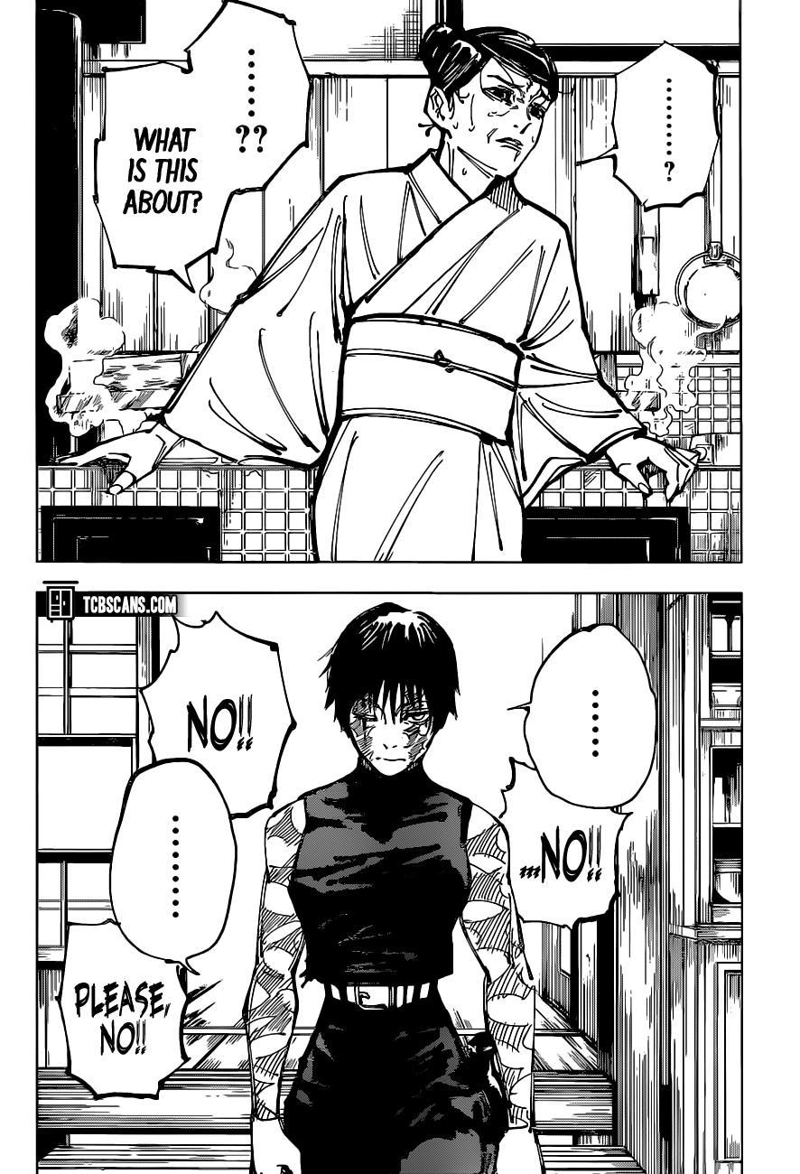 Jujutsu Kaisen, Chapter 152 image 003