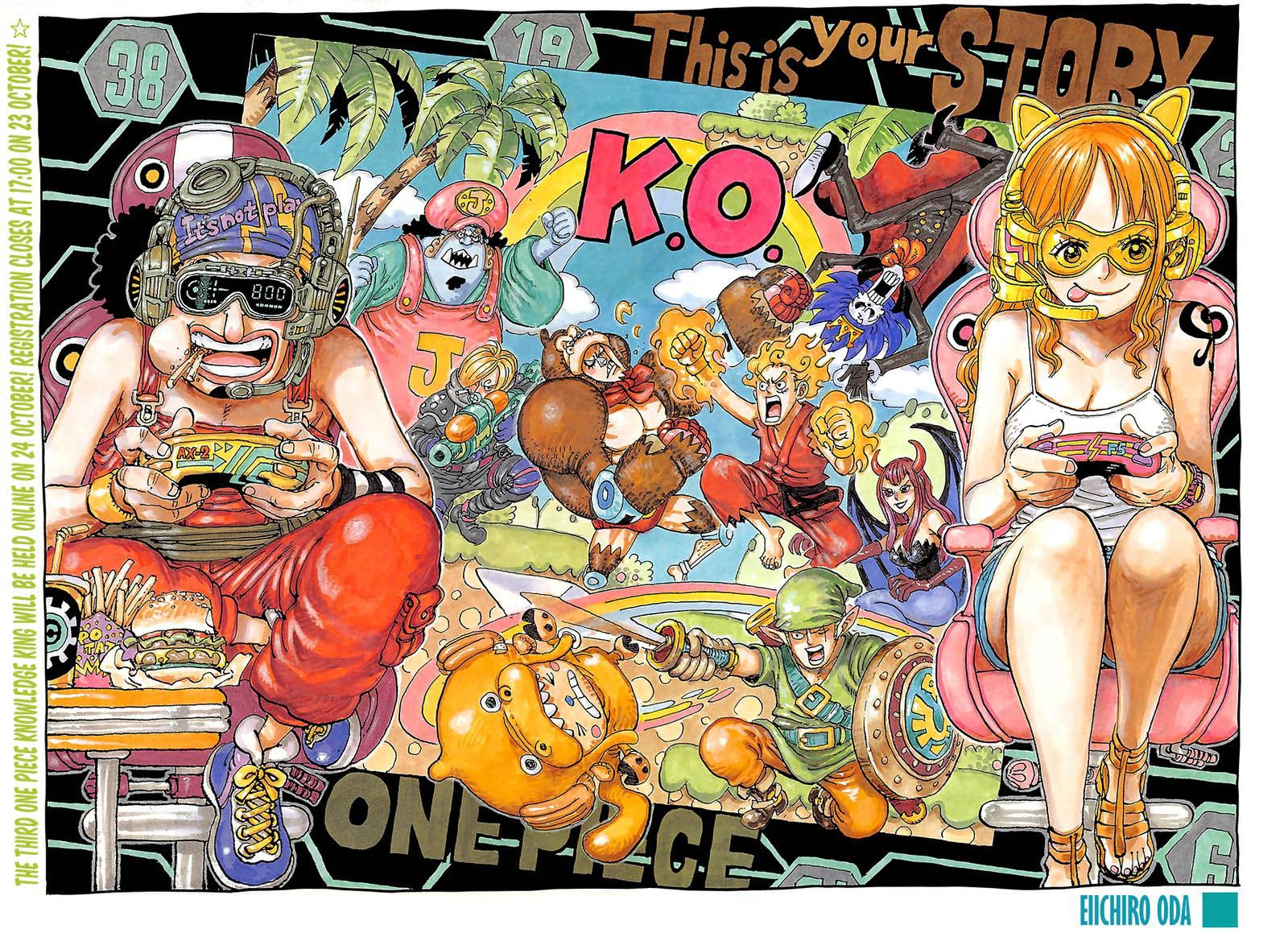 One Piece, Chapter 1028 image one_piece_1028_2