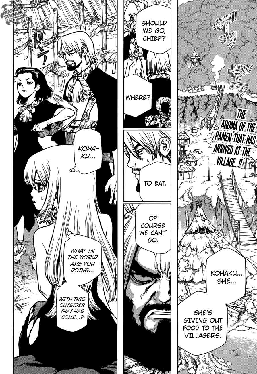 Dr. Stone : Chapter 23 - The Silver-tongued man image 002
