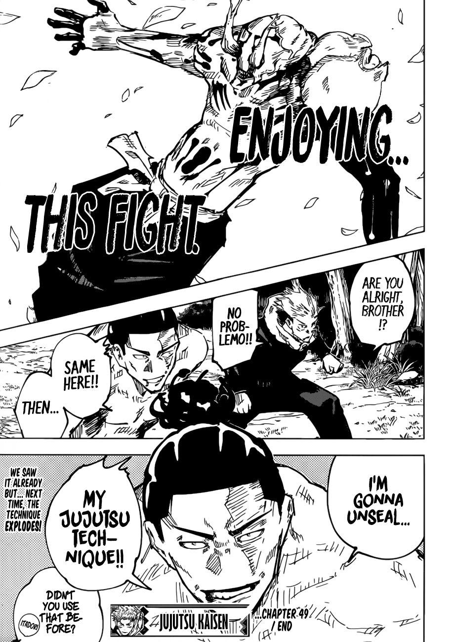 Jujutsu Kaisen, Chapter 49 image 020