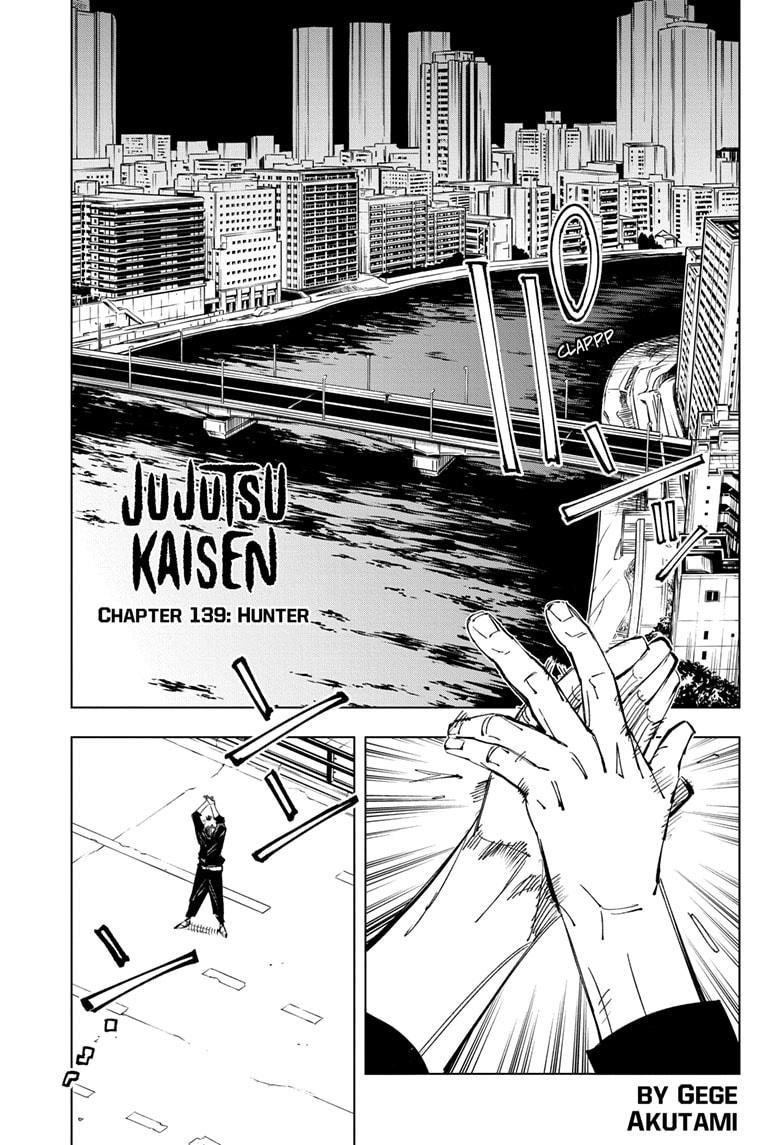 Jujutsu Kaisen, Chapter 139 image 001