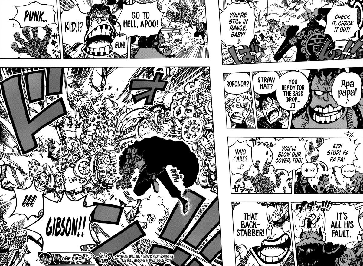 One Piece, Chapter 980 image 016