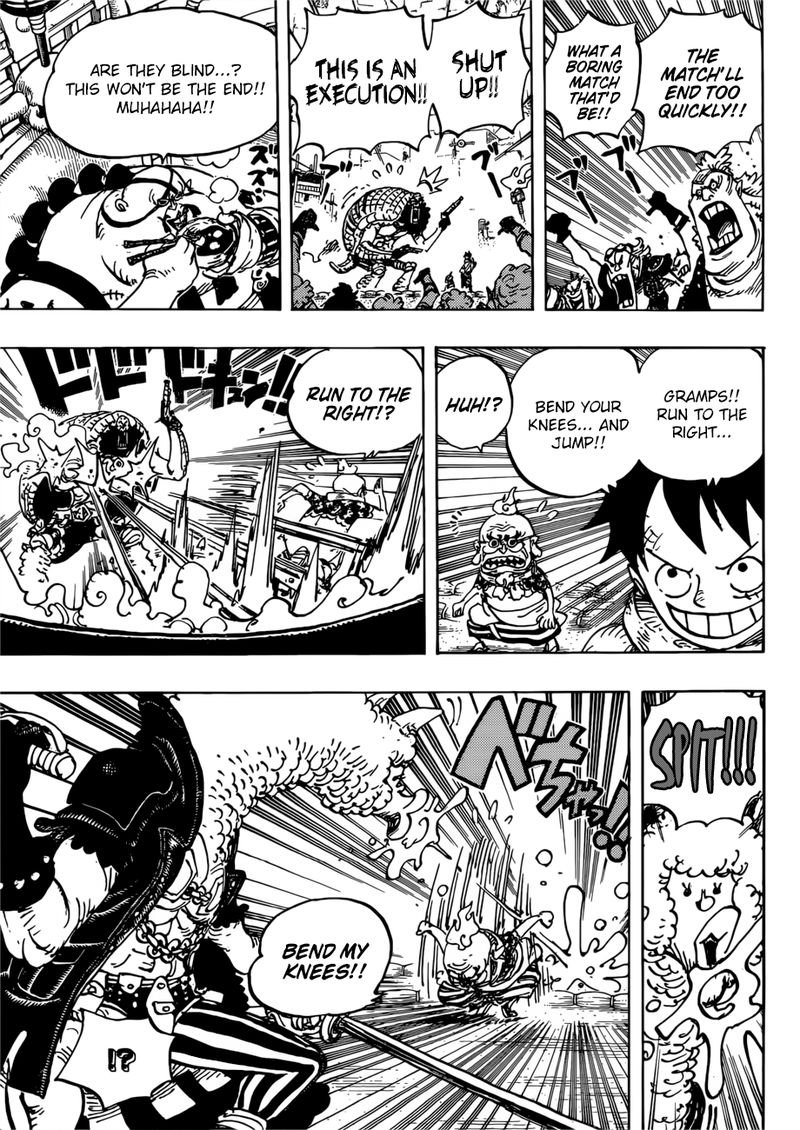 One Piece, Chapter 939 image 010