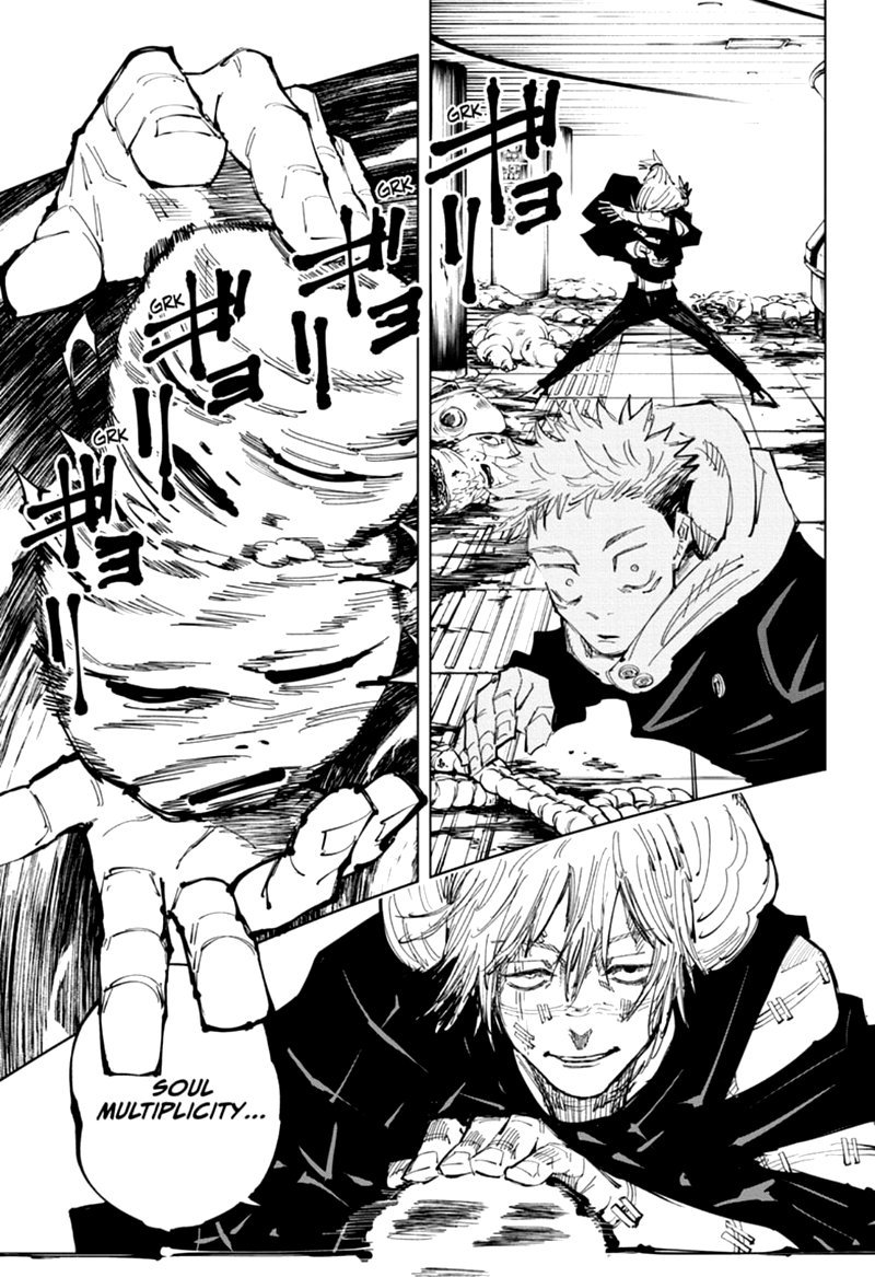 Jujutsu Kaisen, Chapter 121 image 003