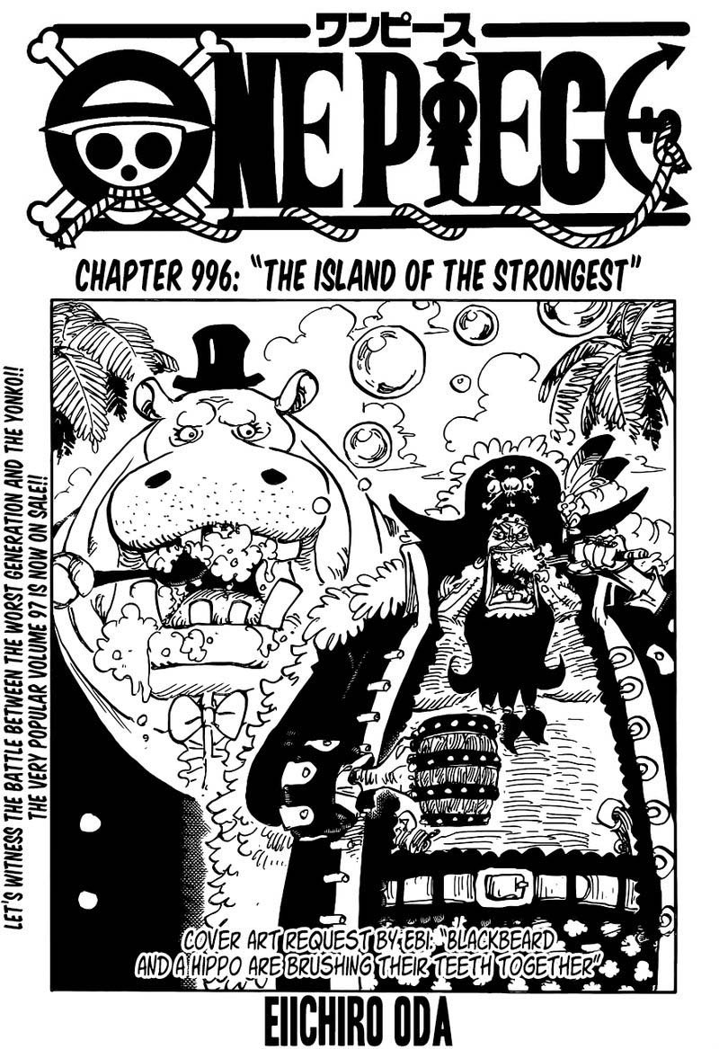 One Piece, Chapter 996 image 001
