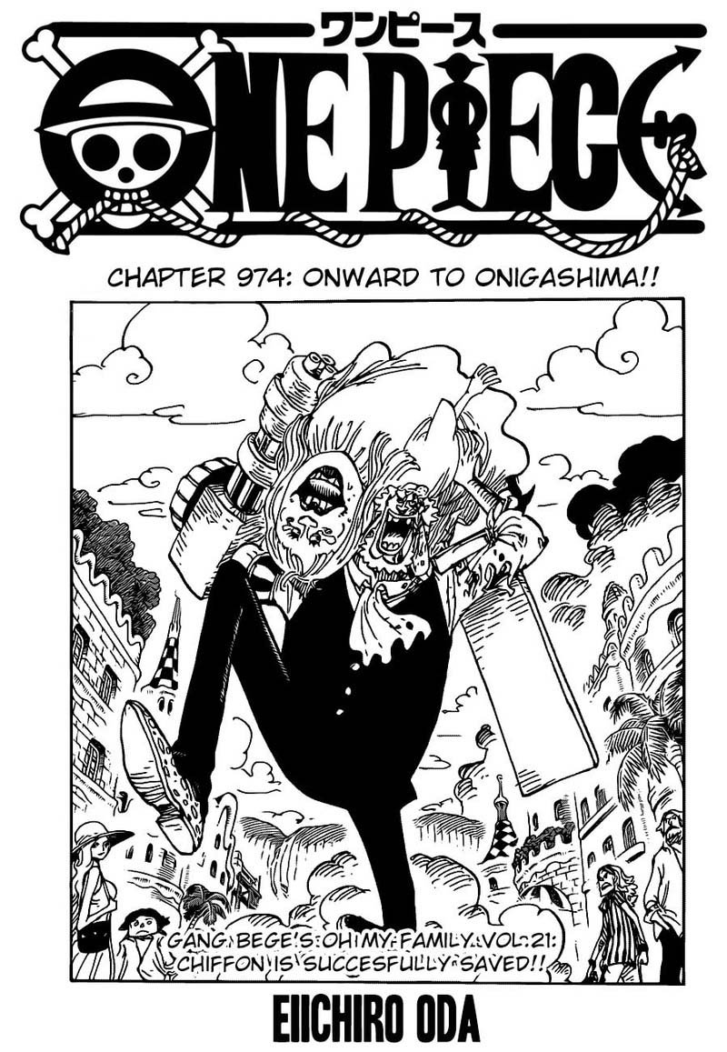 One Piece, Chapter 974 image 001