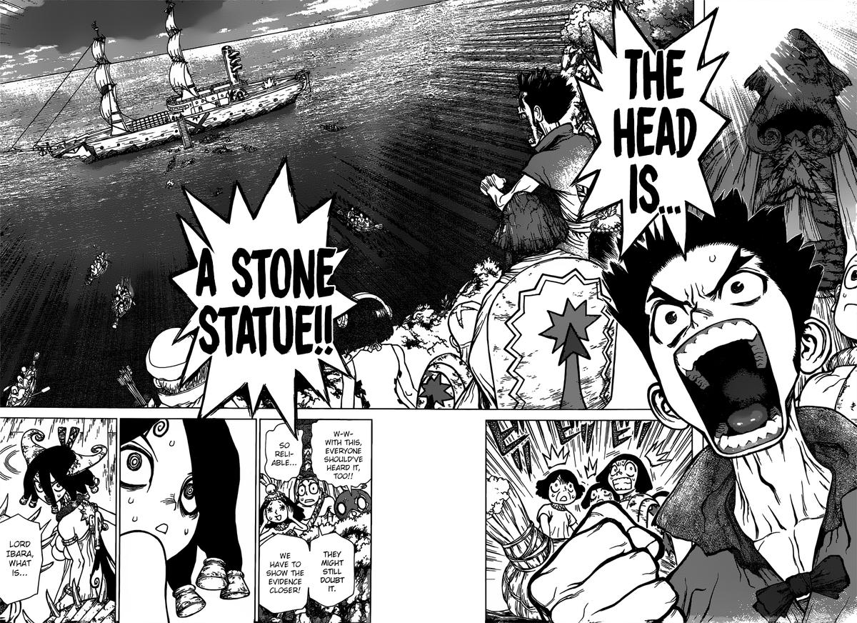 Dr. Stone : Chapter 131 - A Bad Crime image 009