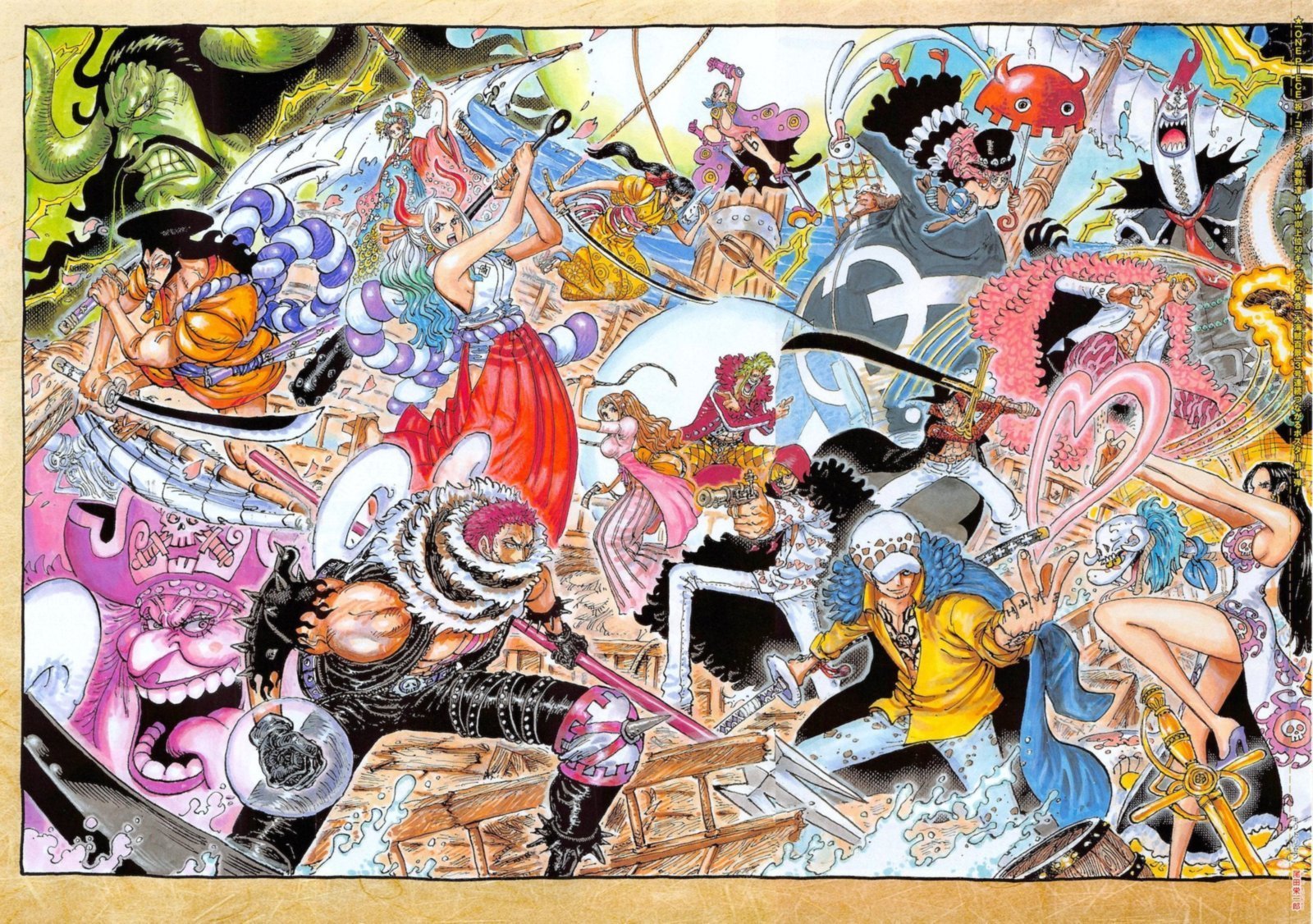 One Piece, Chapter 1023 image one_piece_1023_1