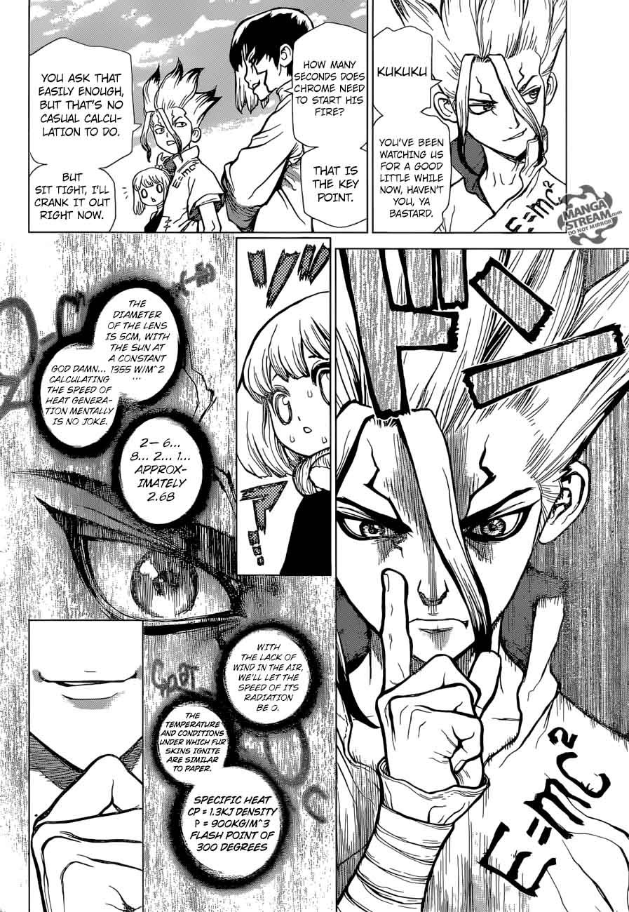 Dr. Stone : Chapter 38 - Master of Flame image 006