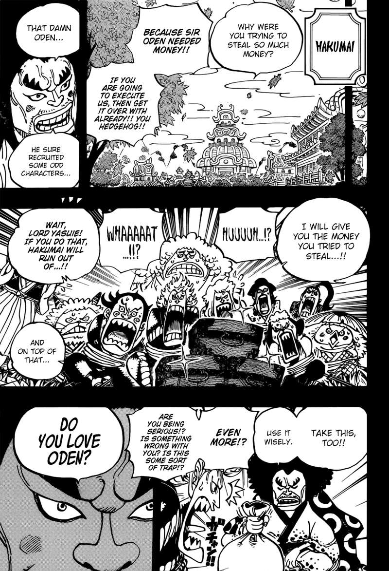 One Piece, Chapter 963 image 009