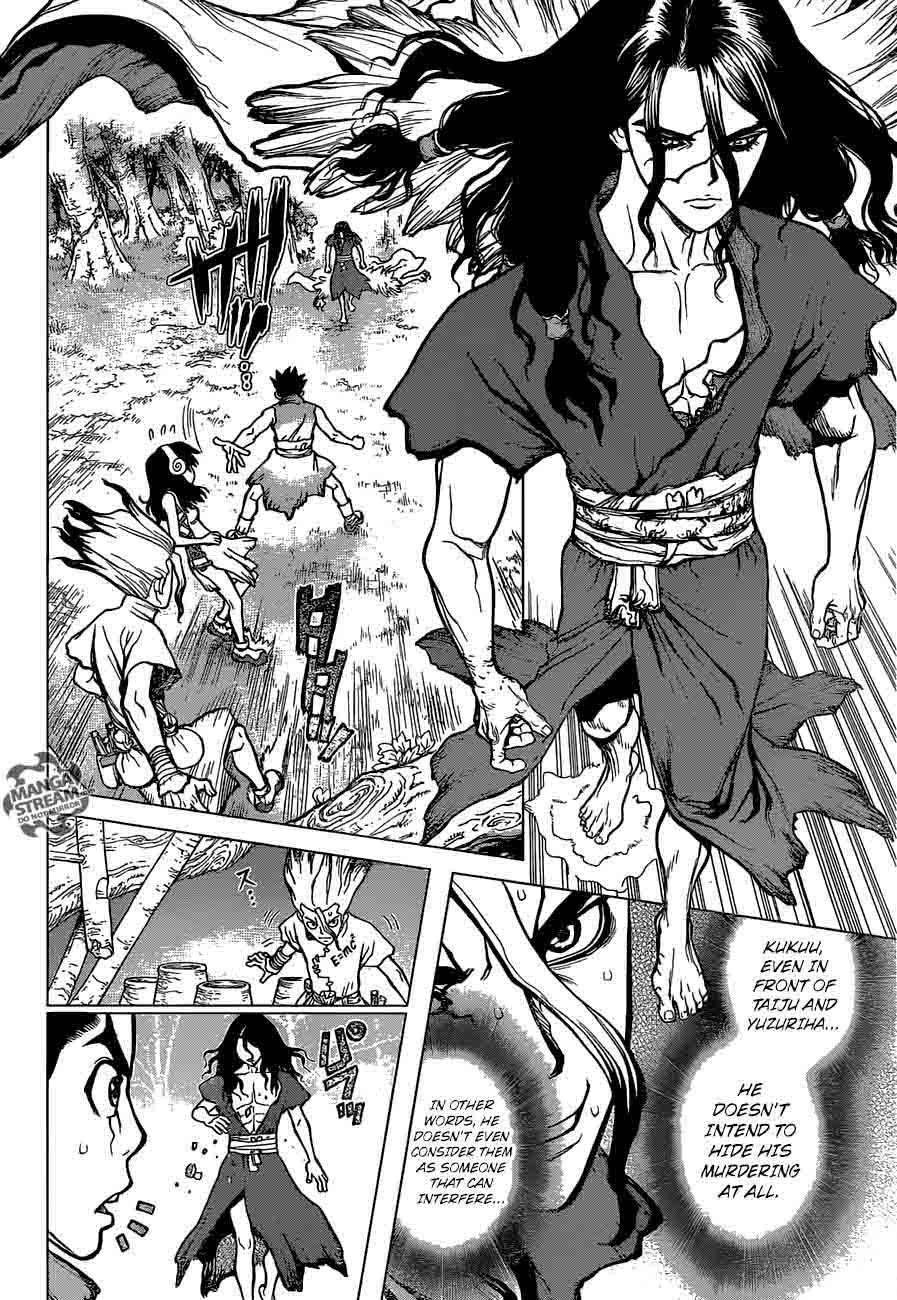 Dr. Stone : Chapter 6 - Taiju vs Tsukasa image 004