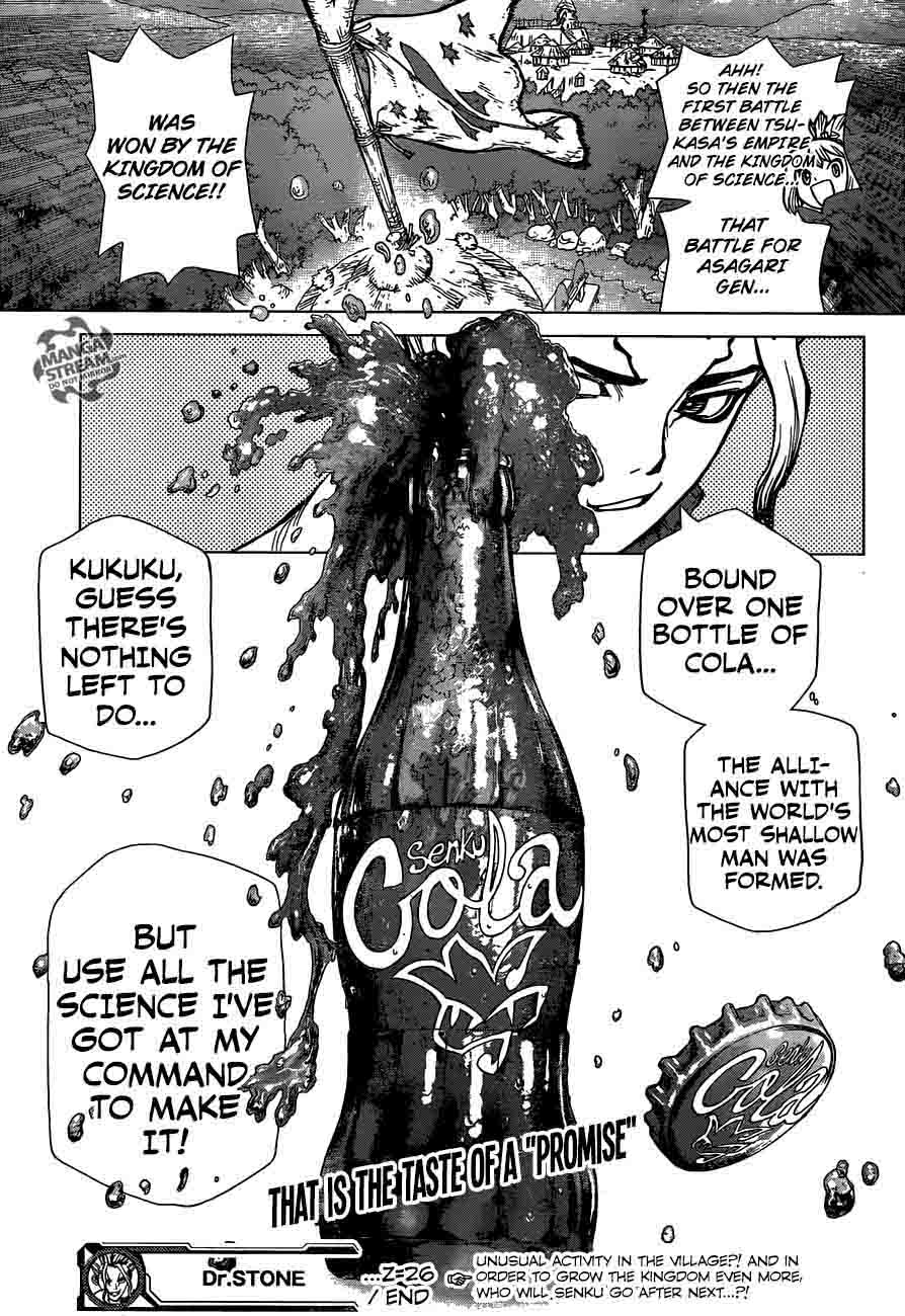 Dr. Stone : Chapter 26 - A Shadow Alliance image 019