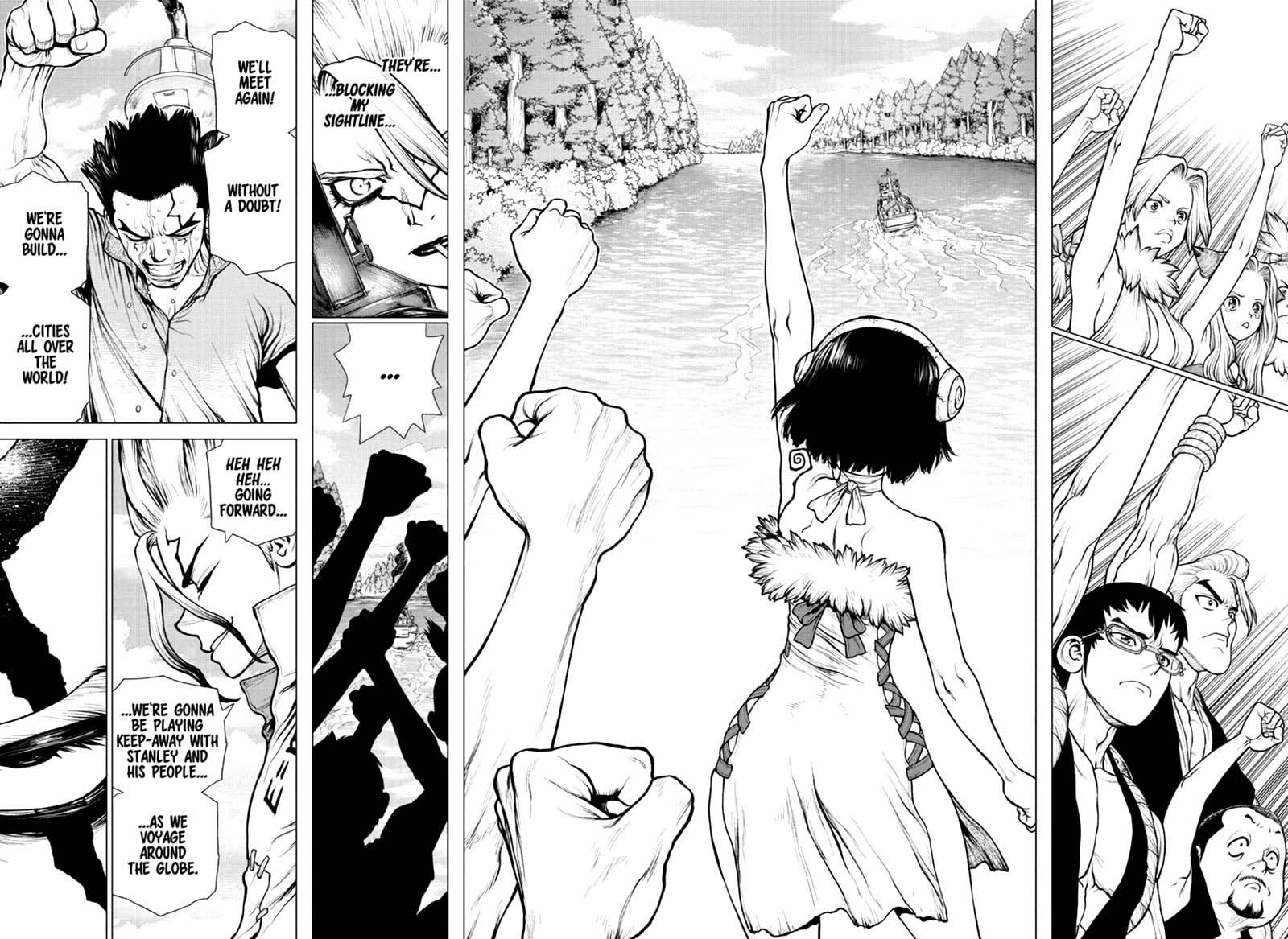 Dr. Stone, Chapter 169 - RISK or HEART image 016
