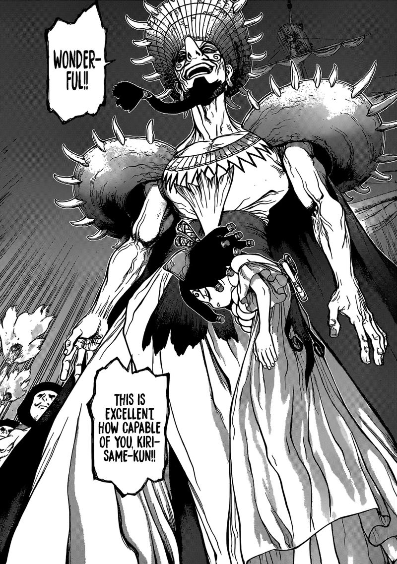 Dr. Stone : Chapter 107 - To the Trump Card Science Vessel image 007
