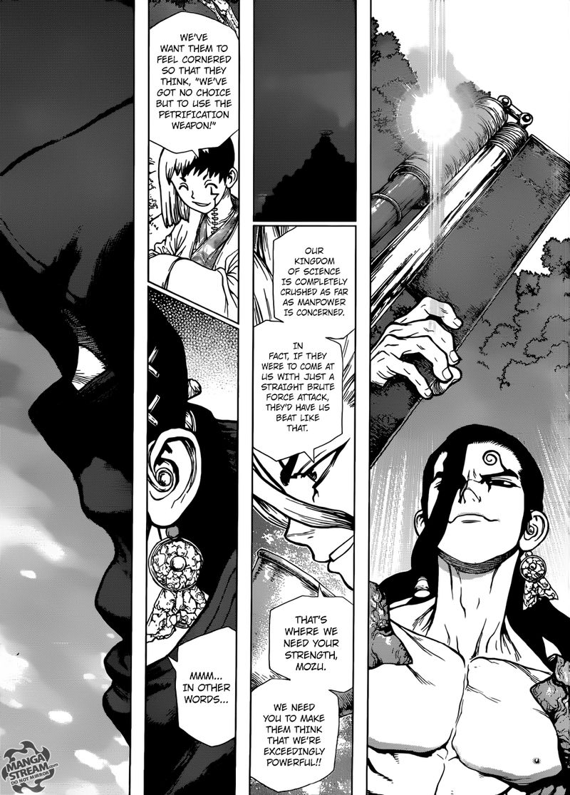 Dr. Stone : Chapter 123 - The Battle of Wits Deal Game image 017