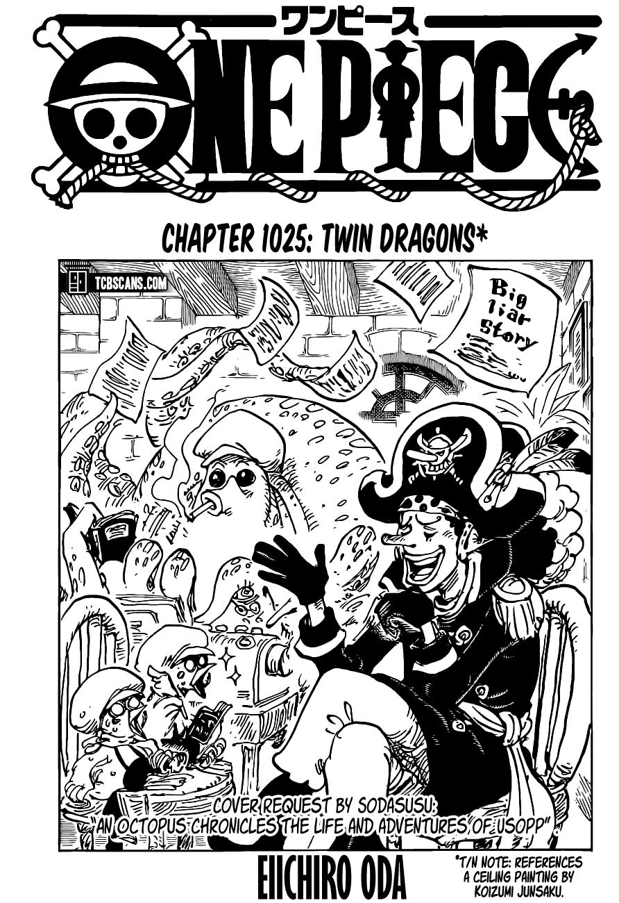 One Piece, Chapter 1025 image 01