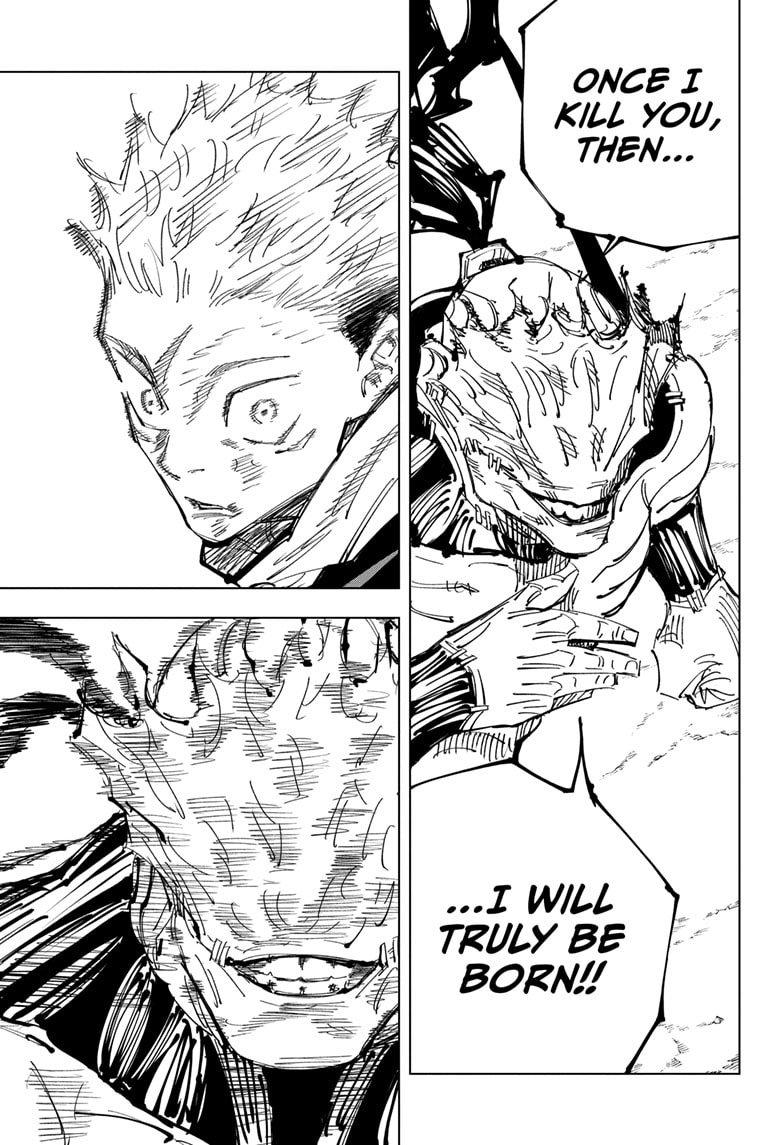 Jujutsu Kaisen, Chapter 131 image 004