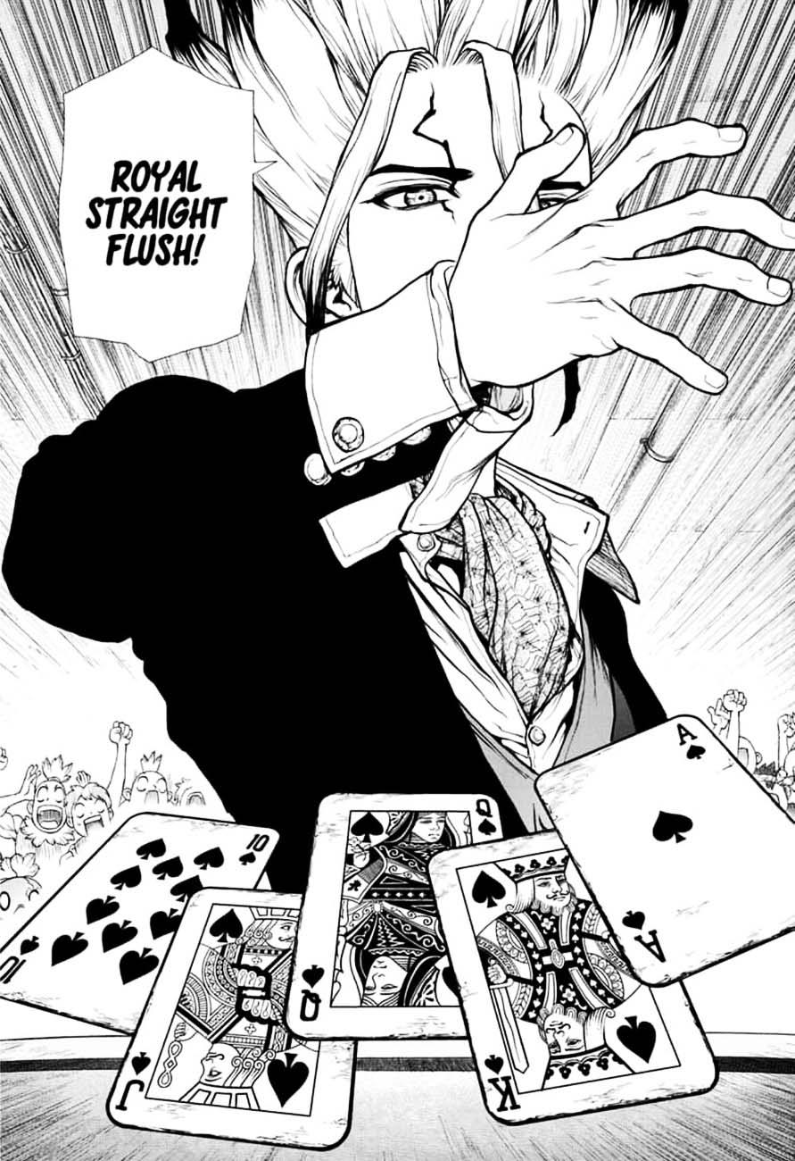 Dr. Stone : Chapter 144 - Ryusui & Gen vs. Senku & Kohaku image 016