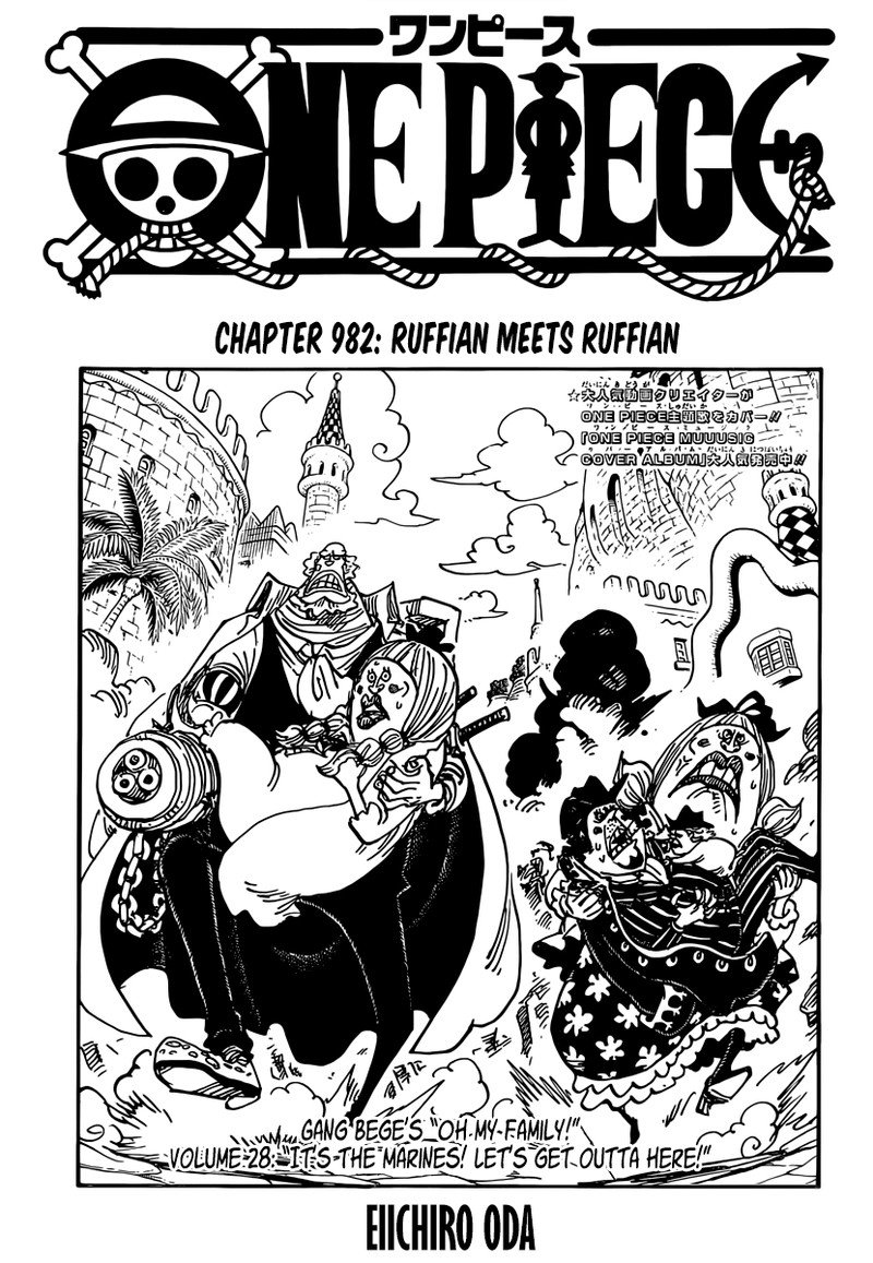 One Piece, Chapter 982 image 001
