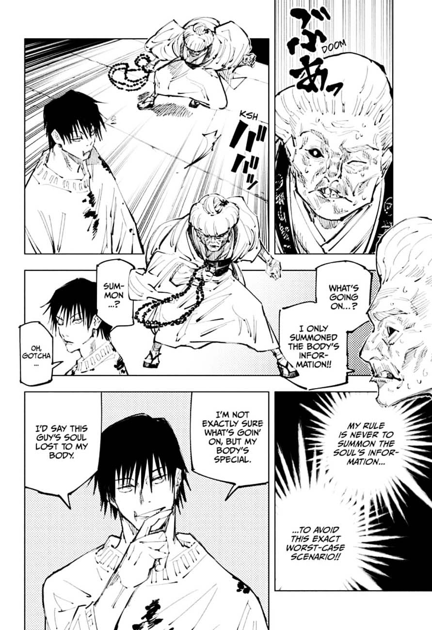 Jujutsu Kaisen, Chapter 98 image 006